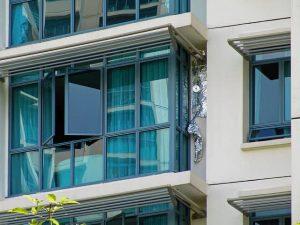 Német ablakfólia